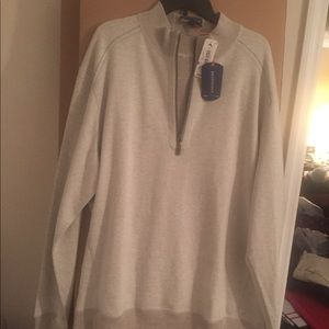 Tommy bahama half zip sweater pullover